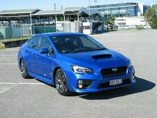 2017 Subaru WRX MY17 Premium (AWD) Blue 6 Speed Manual Sedan.