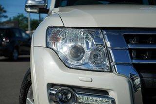 2017 Mitsubishi Pajero NX MY17 GLS Warm White 5 Speed Sports Automatic Wagon.