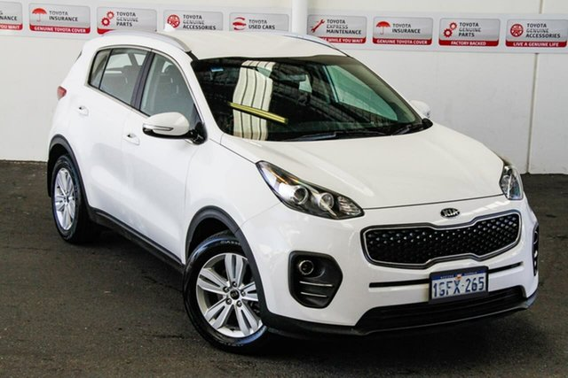 Pre-Owned Kia Sportage QL MY17 SI (FWD) Rockingham, 2017 Kia Sportage QL MY17 SI (FWD) White 6 Speed Automatic Wagon
