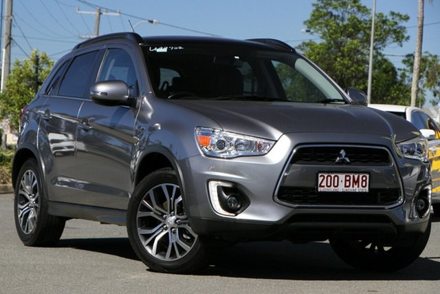 Used Mitsubishi ASX XB MY15.5 XLS 2WD Rocklea, 2016 Mitsubishi ASX XB MY15.5 XLS 2WD Titanium 6 Speed Constant Variable Wagon