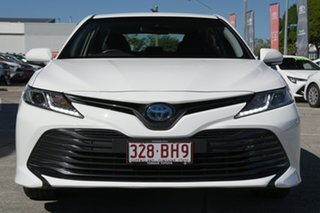 2020 Toyota Camry AXVH71R Ascent Glacier White 6 Speed Constant Variable Sedan Hybrid