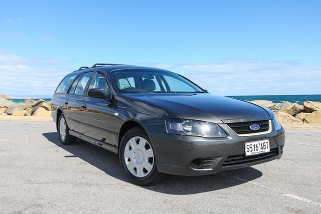 Used Ford Falcon BF Mk III XT Lonsdale, 2009 Ford Falcon BF Mk III XT Grey 4 Speed Sports Automatic Wagon