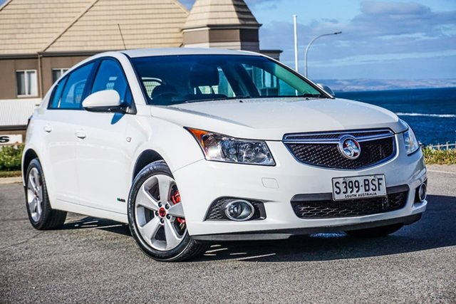 Used Holden Cruze JH Series II MY14 Equipe Christies Beach, 2014 Holden Cruze JH Series II MY14 Equipe White 6 Speed Sports Automatic Hatchback