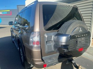 2011 Mitsubishi Pajero NW MY12 GLX Brown 5 Speed Sports Automatic Wagon.