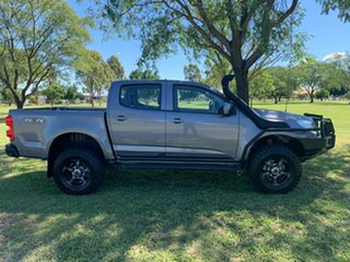 2015 Holden Colorado RG MY15 LS Crew Cab Satin Steel Grey 6 Speed Manual Utility.