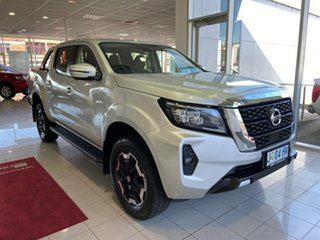 2020 Nissan Navara D23 MY21 ST-X Brilliant Silver 6 Speed Manual Utility.