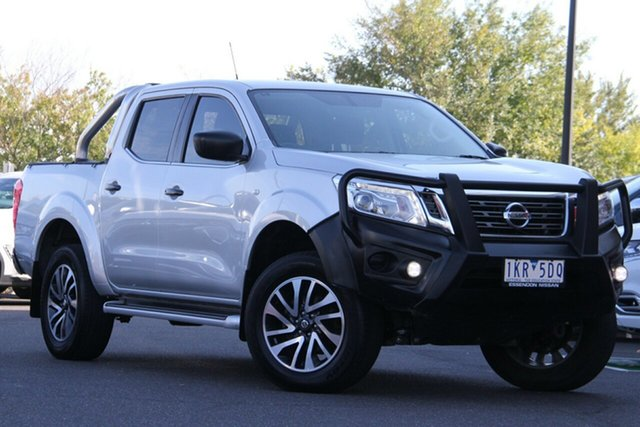 Used Nissan Navara D23 S2 SL Essendon Fields, 2017 Nissan Navara D23 S2 SL Silver, Chrome 7 Speed Sports Automatic Utility