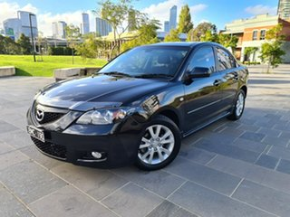 2007 Mazda 3 BK1032 SP23 Black 5 Speed Sports Automatic Sedan.