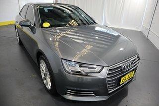 2016 Audi A4 B9 8W MY16 Sport S Tronic Grey 7 Speed Sports Automatic Dual Clutch Sedan.
