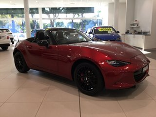 2020 Mazda MX-5 ND GT SKYACTIV-MT RS Soul Red 6 Speed Manual Roadster.