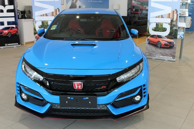 Demo Honda Civic 10th Gen MY21 Type R Cardiff, 2021 Honda Civic 10th Gen MY21 Type R Racing Blue 6 Speed Manual Hatchback