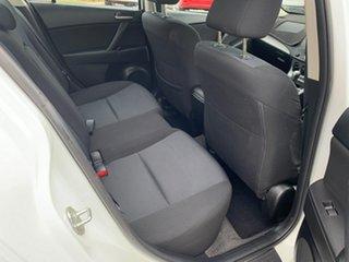 2009 Mazda 3 BK MY08 Neo Sport White 4 Speed Auto Activematic Hatchback