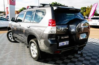 2009 Toyota Landcruiser Prado KDJ150R GXL Grey 5 Speed Sports Automatic Wagon.
