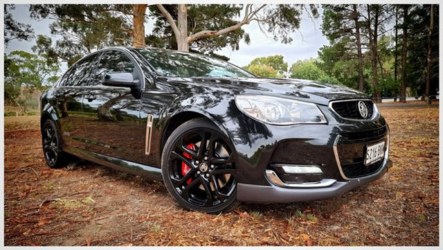 Used Holden Commodore VF II MY16 SS V Redline Nuriootpa, 2016 Holden Commodore VF II MY16 SS V Redline Black 6 Speed Sports Automatic Sedan