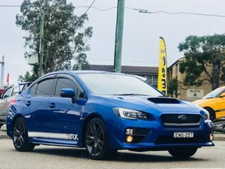 2016 Subaru WRX V1 MY17 Premium Lineartronic AWD Blue 8 Speed Constant Variable Sedan
