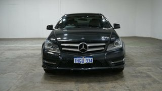 2013 Mercedes-Benz C-Class C204 MY13 C350 7G-Tronic + Black 7 Speed Sports Automatic Coupe