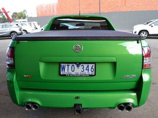 2008 Holden Ute VE SS V Green 6 Speed Manual Utility