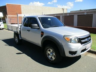 2009 Ford Ranger PJ XL Hi-Rider Silver 5 Speed Manual Cab Chassis.