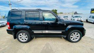 2010 Jeep Cherokee KK MY10 Limited Black 4 Speed Automatic Wagon.