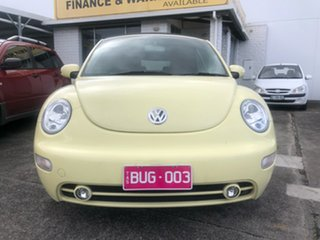 2003 Volkswagen Beetle 1Y MY2003 Yellow 6 Speed Sports Automatic Cabriolet