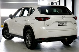 2018 Mazda CX-5 KF4W2A Maxx SKYACTIV-Drive i-ACTIV AWD Sport Snowflake White 6 Speed.