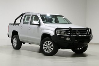 2017 Volkswagen Amarok 2H MY17 TDI400 Core Edition (4x4) Silver 6 Speed Manual Dual Cab Utility.