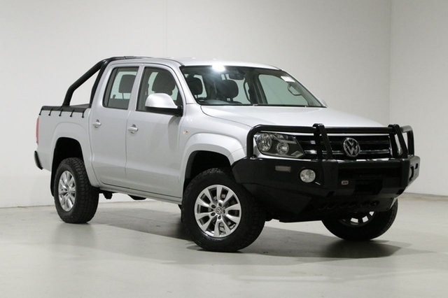 Used Volkswagen Amarok 2H MY17 TDI400 Core Edition (4x4) Bentley, 2017 Volkswagen Amarok 2H MY17 TDI400 Core Edition (4x4) Silver 6 Speed Manual Dual Cab Utility