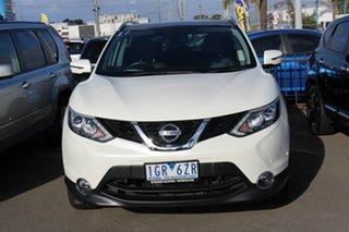 2016 Nissan Qashqai J11 TI White 1 Speed Constant Variable Wagon.