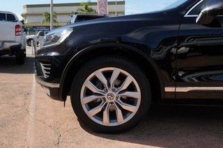 2014 Volkswagen Touareg 7P MY14 V6 TDI 4Xmotion Black 8 Speed Automatic Wagon.