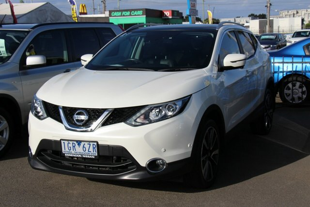 Used Nissan Qashqai J11 TI Cheltenham, 2016 Nissan Qashqai J11 TI White 1 Speed Constant Variable Wagon