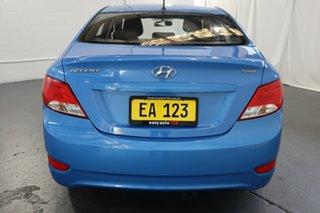 2017 Hyundai Accent RB6 MY18 Sport Blue 6 Speed Sports Automatic Sedan