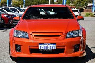 2006 Holden Commodore VE SS Orange 6 Speed Sports Automatic Sedan