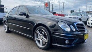 2006 Mercedes-Benz E-Class W211 MY07 E63 AMG Black 7 Speed Sports Automatic Sedan.