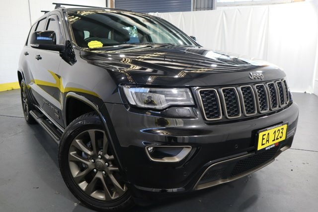 Used Jeep Grand Cherokee WK MY16 75th Anniversary Castle Hill, 2016 Jeep Grand Cherokee WK MY16 75th Anniversary Black 8 Speed Sports Automatic Wagon