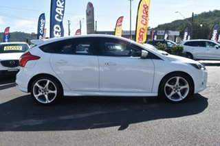 2012 Ford Focus LW Titanium PwrShift White 6 Speed Sports Automatic Dual Clutch Hatchback.