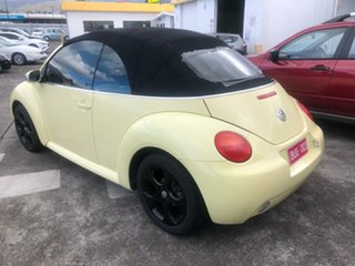 2003 Volkswagen Beetle 1Y MY2003 Yellow 6 Speed Sports Automatic Cabriolet.
