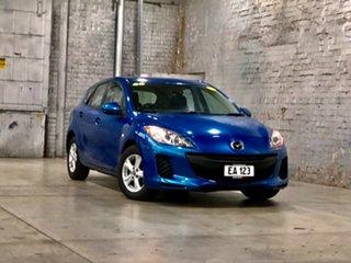 2013 Mazda 3 BL10F2 MY13 Neo Blue 6 Speed Manual Hatchback.