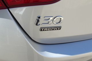 2013 Hyundai i30 GD2 MY14 Trophy Silver 6 Speed Sports Automatic Hatchback