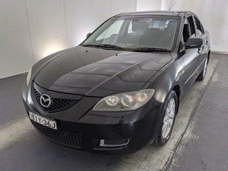 2009 Mazda 3 BK10F2 MY08 Neo Sport Black 5 Speed Manual Sedan.