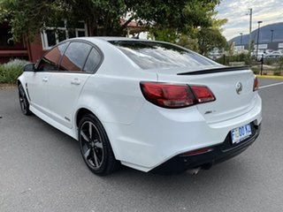 2016 Holden Commodore VF II MY16 SV6 Black Heron White 6 Speed Sports Automatic Sedan