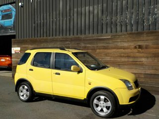 2003 Holden Cruze YG Yellow 4 Speed Automatic Wagon.