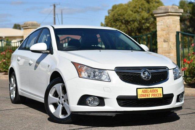 Used Holden Cruze JH Series II MY14 Equipe Enfield, 2014 Holden Cruze JH Series II MY14 Equipe White 6 Speed Sports Automatic Sedan
