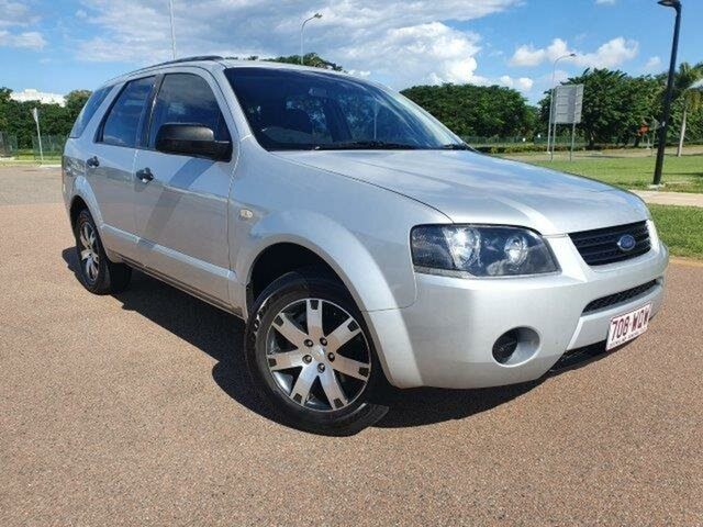 Used Ford Territory SY TX Townsville, 2008 Ford Territory SY TX Lightning Strike 4 Speed Sports Automatic Wagon