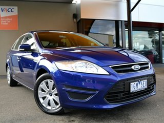 2014 Ford Mondeo MC LX Blue 6 Speed Sports Automatic Hatchback.