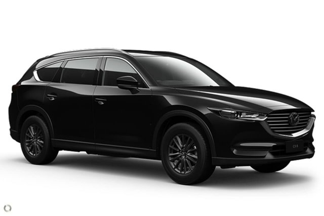 New Mazda CX-8 KG2WLA Sport SKYACTIV-Drive FWD East Maitland, 2021 Mazda CX-8 KG2WLA Sport SKYACTIV-Drive FWD Black 6 Speed Sports Automatic Wagon