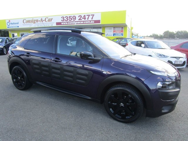 Used Citroen C4 Cactus E3 MY16 Exclusive ETG Kedron, 2015 Citroen C4 Cactus E3 MY16 Exclusive ETG Purple 6 Speed Sports Automatic Single Clutch Wagon