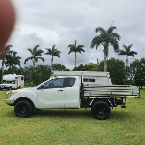 Used Mazda BT-50 UP0YF1 XT Freestyle Alberton, 2015 Mazda BT-50 UP0YF1 XT Freestyle White 6 Speed Manual Cab Chassis
