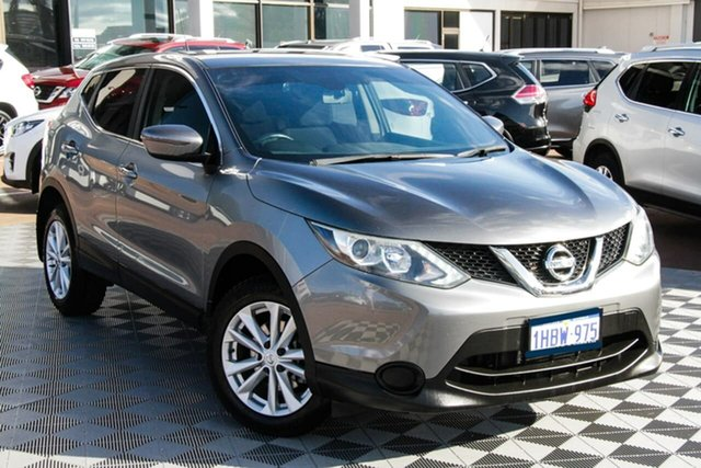 Used Nissan Qashqai J11 ST Attadale, 2017 Nissan Qashqai J11 ST Grey 1 Speed Constant Variable Wagon