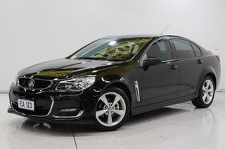 2015 Holden Commodore VF II MY16 SV6 Black 6 Speed Sports Automatic Sedan.