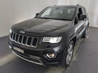 2013 Jeep Grand Cherokee WK MY2014 Limited Black 8 Speed Sports Automatic Wagon.